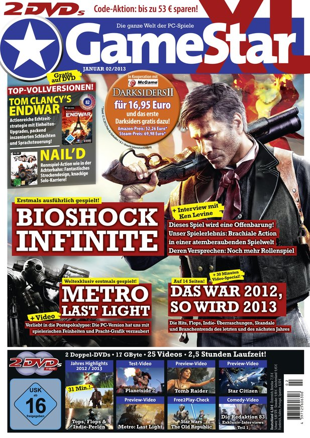 GameStar 02/13 – ab dem 27.12. am Kiosk
