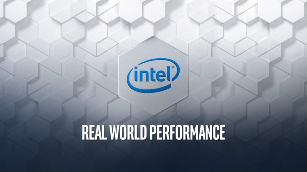"Unter dem Motto ""Real World... Not Really"" zieht Intel über AMD her."