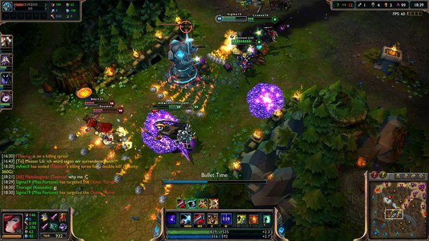 Riot Games stellt den Patch für League of Legends bereit.