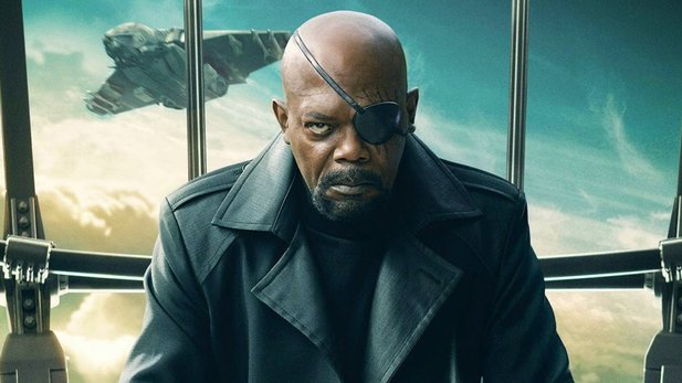 SHIELD-Agent Nick Fury spielt in Captain Marvel mit.