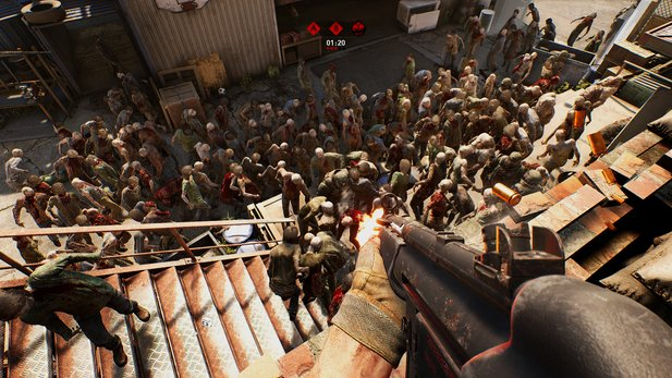 Overkill lädt Vorbesteller zur Closed Beta von The Walking Dead.