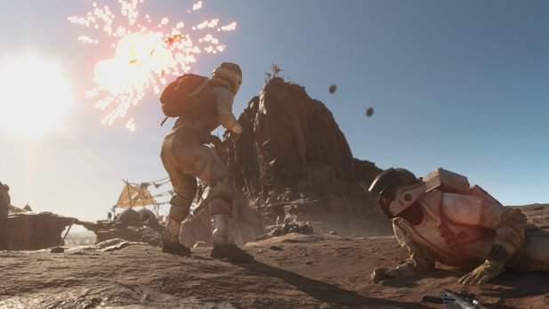 Star Wars: Battlefront - Explosiver Gameplay-Rundflich über Tatooine