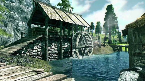 The Elder Scrolls 5: Skyrim - Technik-Video: NextGen-Skyrim dank Grafik-Mods