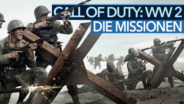 Call of Duty: WW2 - Video-Analyse zur Kampagne: Wo kämpfte die 1st Infantry Division?