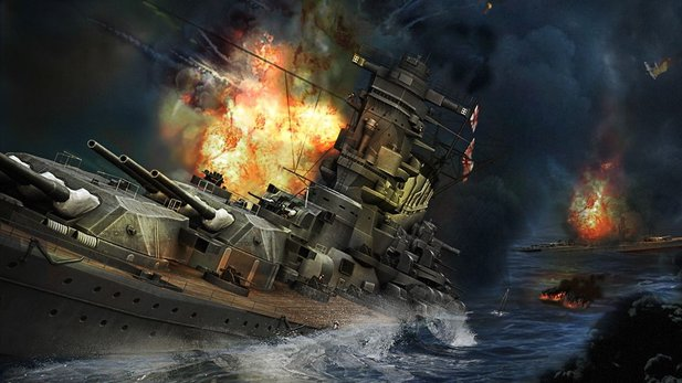 World of Warships - Test-Video zum maritimen World of Tanks