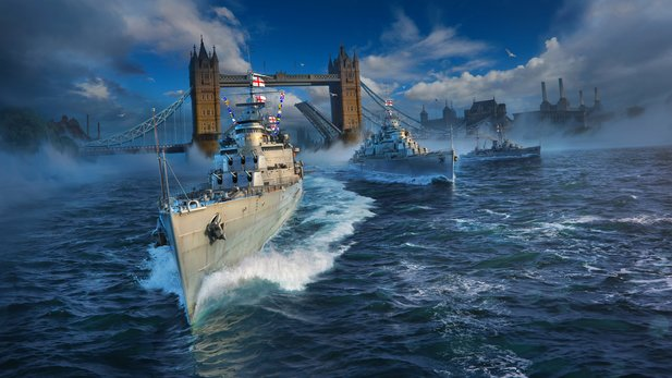 World of Warships bekommt Zuwachs aus der Royal Navy.