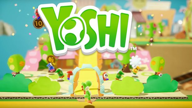 Yoshi für Nintendo Switch - E3 2017: Ankündigungs-Trailer zum Switch-Jump&Run