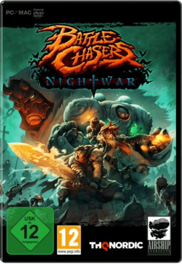 Cover zu Battle Chasers: Nightwar