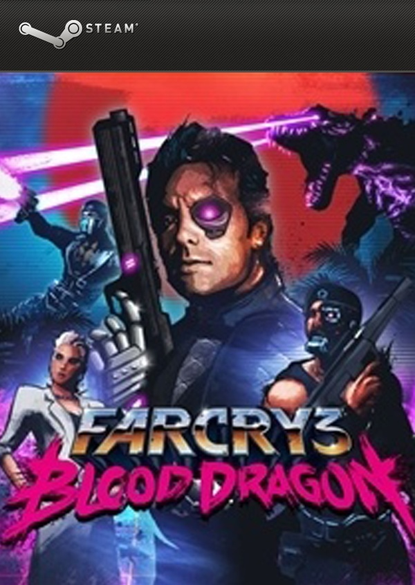 Cover zu Far Cry 3: Blood Dragon