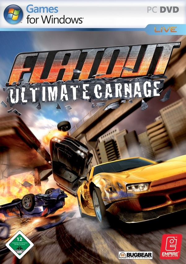 Cover zu Flatout: Ultimate Carnage