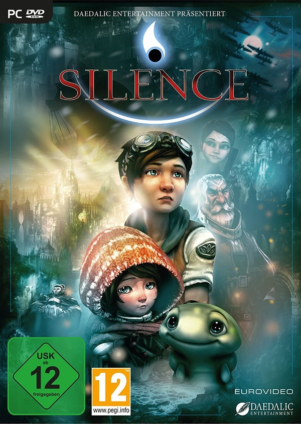 Cover zu Silence - The Whispered World 2