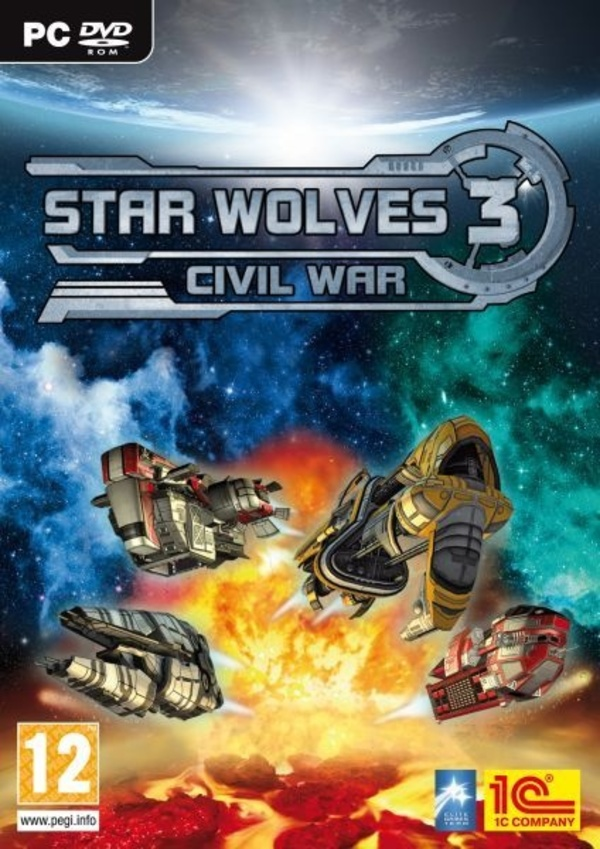 Cover zu Star Wolves 3: Civil War