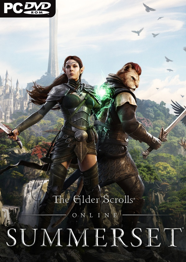Cover zu The Elder Scrolls Online: Summerset