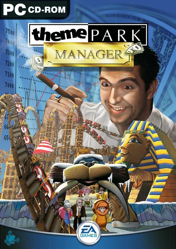 Cover zu Theme Park Manager