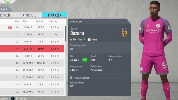 fifa20 talente