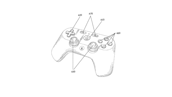 Googles Gaming-Controller - Patent angemeldet, Mischung aus PS4- und Xbox-Controller