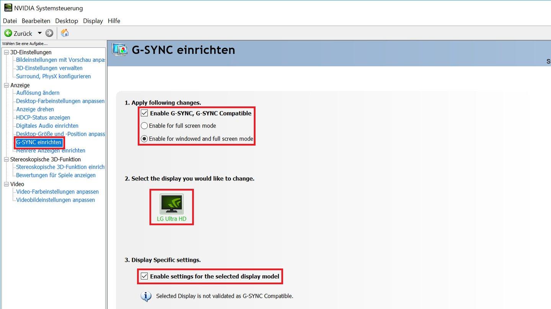 G-Sync auf Freesync-Monitoren - Anleitung und Test zu G-Sync Compatible