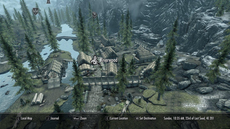 Grafik-Mods für The Elder Scrolls 5: Skyrim - 3D-Map, 4,0 GByte RAM ...