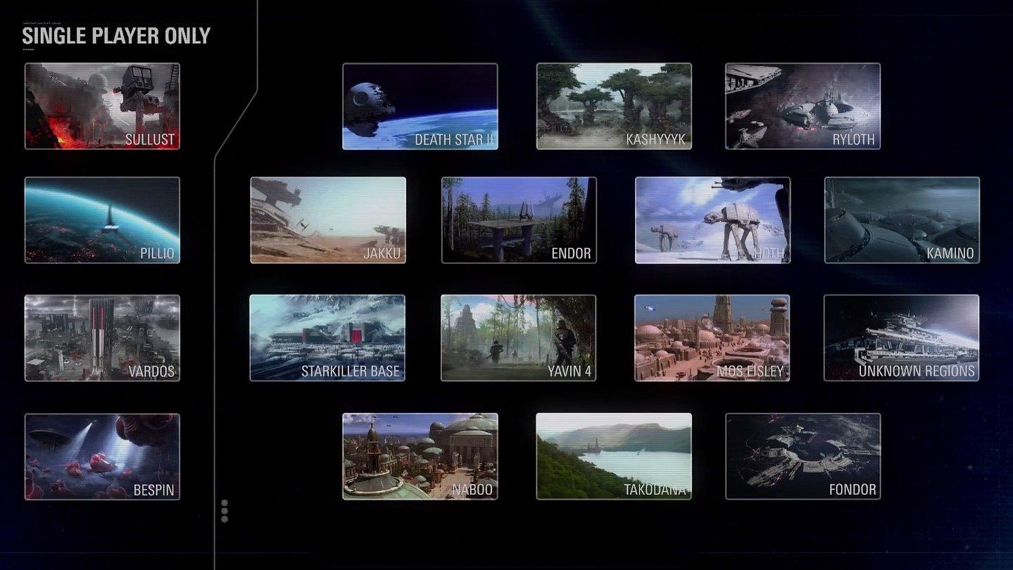 Star Wars Battlefront 2 Alle Maps Und Modi In Der übersicht