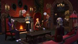<b>Die Sims 4</b><br>Screenshots aus dem Gameplay-Pack »Vampire«
