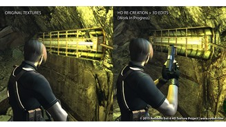 Resident Evil 4 - Screenshots aus der Mod RE4 HD Project