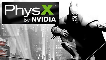 Batman: Arkham City - Neuer Nvidia-Trailer zeigt PhysX-Effekte