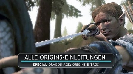 Dragon Age: Origins - Alle Origins-Intros in einem Video
