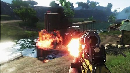 Far Cry 3 - Gameplay-Trailer zu den Waffen