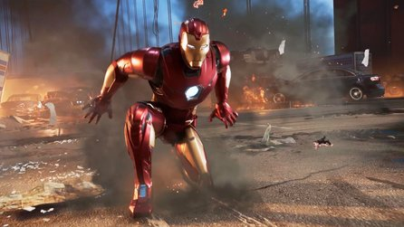 6 Minuten geheimes Avengers-Gameplay geleakt: Iron Man in Aktion
