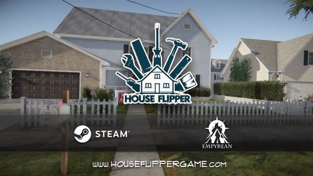 House Flipper - Trailer zum Renovier-Simulator & Steam-Hit