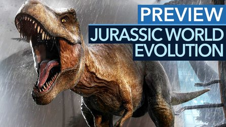 Jurassic World Evolution - Preview-Video: Grafikpracht, die Ark neidisch macht