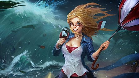 League of Legends - Gameplay-Trailer zum neuen Skin: Wettervorhersagerin Janna