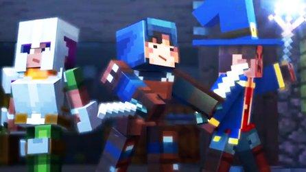 Aktuelle Videos Trailer Und Gameplay Zu Spielen GameStar - Minecraft bit spiele