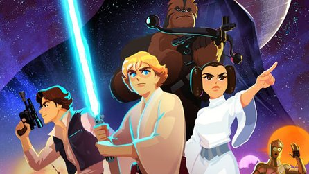Star Wars Galaxy of Adventures - Trailer zur neuen Mini-Serie mit Luke, Prinzessin Leia, Han Solo & Darth Vader