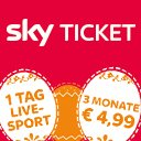 3 Monate Sky Ticket + 1 Tag Live-Sport