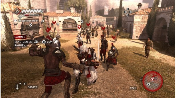 Assassins Creed: BrotherhoodBrotherhood ist nicht Assassins Creed 3, sondern eher Assassins Creed 2,5. Denn der Held ...