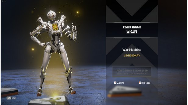 Apex Legends - Alle Skins der Iron Challenge