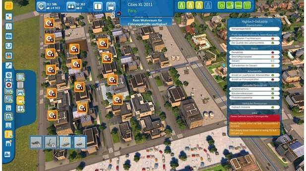 Cities XL 2011Screenshots aus der Test-Version für PC.