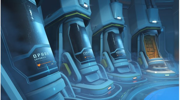 Overwatch - Screenshots zur Map »Antarctica«