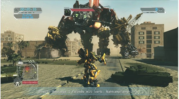 Transformers: Die Rache - Testversion