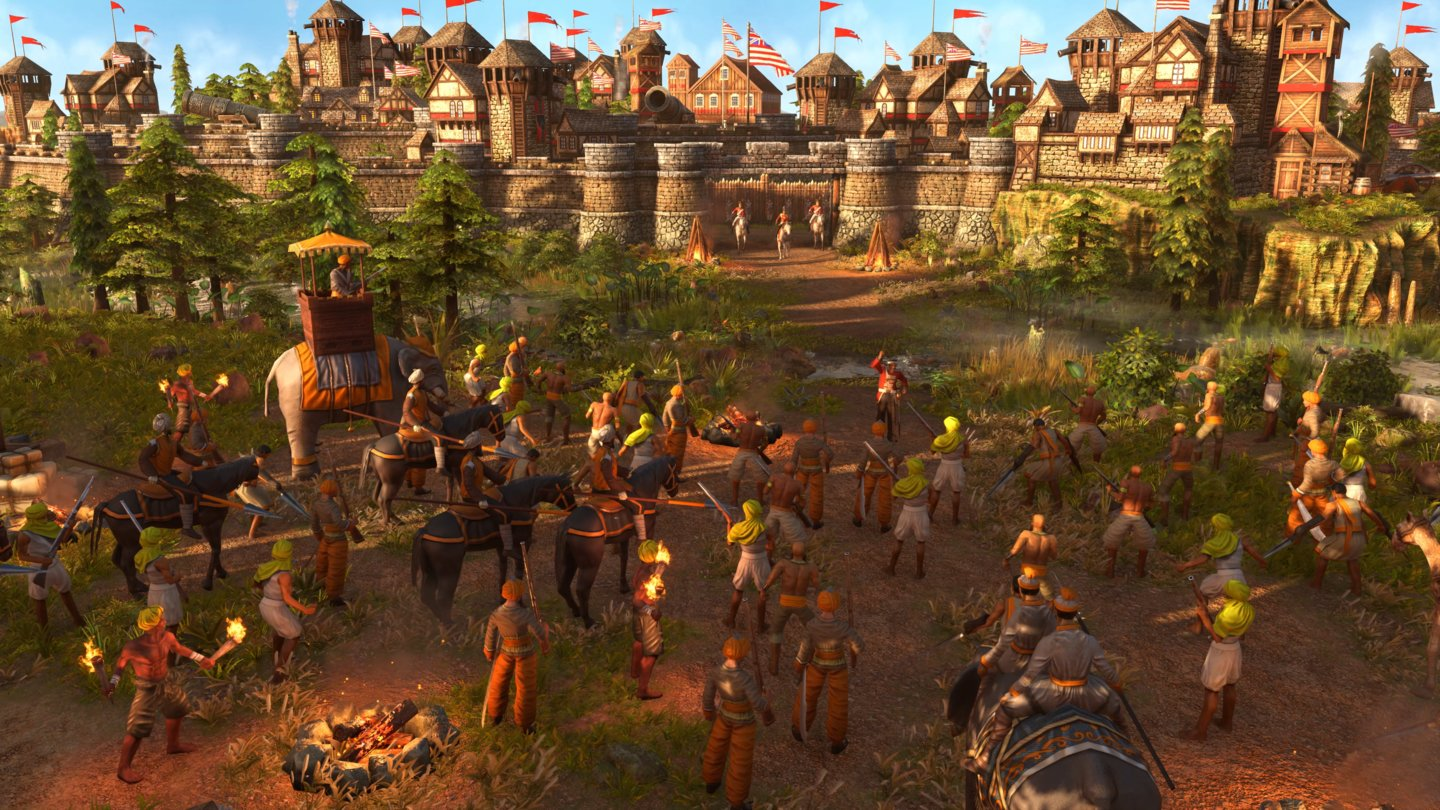 Age of Empires 3: Definitive Edition - Indien Sequenz