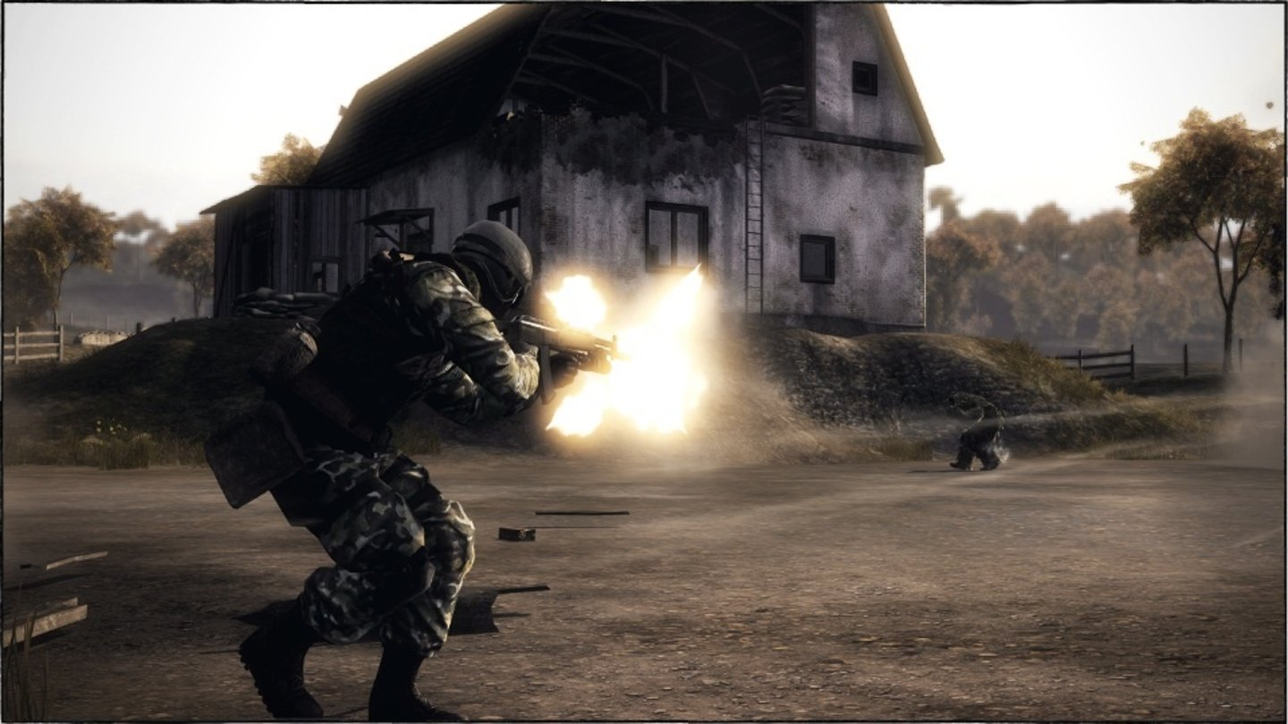 Battlefield: Bad Company 2Screenshots der Multiplayer-Karte »Harvest« aus dem VIP Map-Pack 7 für Bad Company 2.