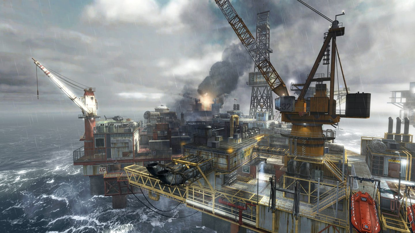 Call of Duty: Modern Warfare 3 - Multiplayer-Map »Offshore«