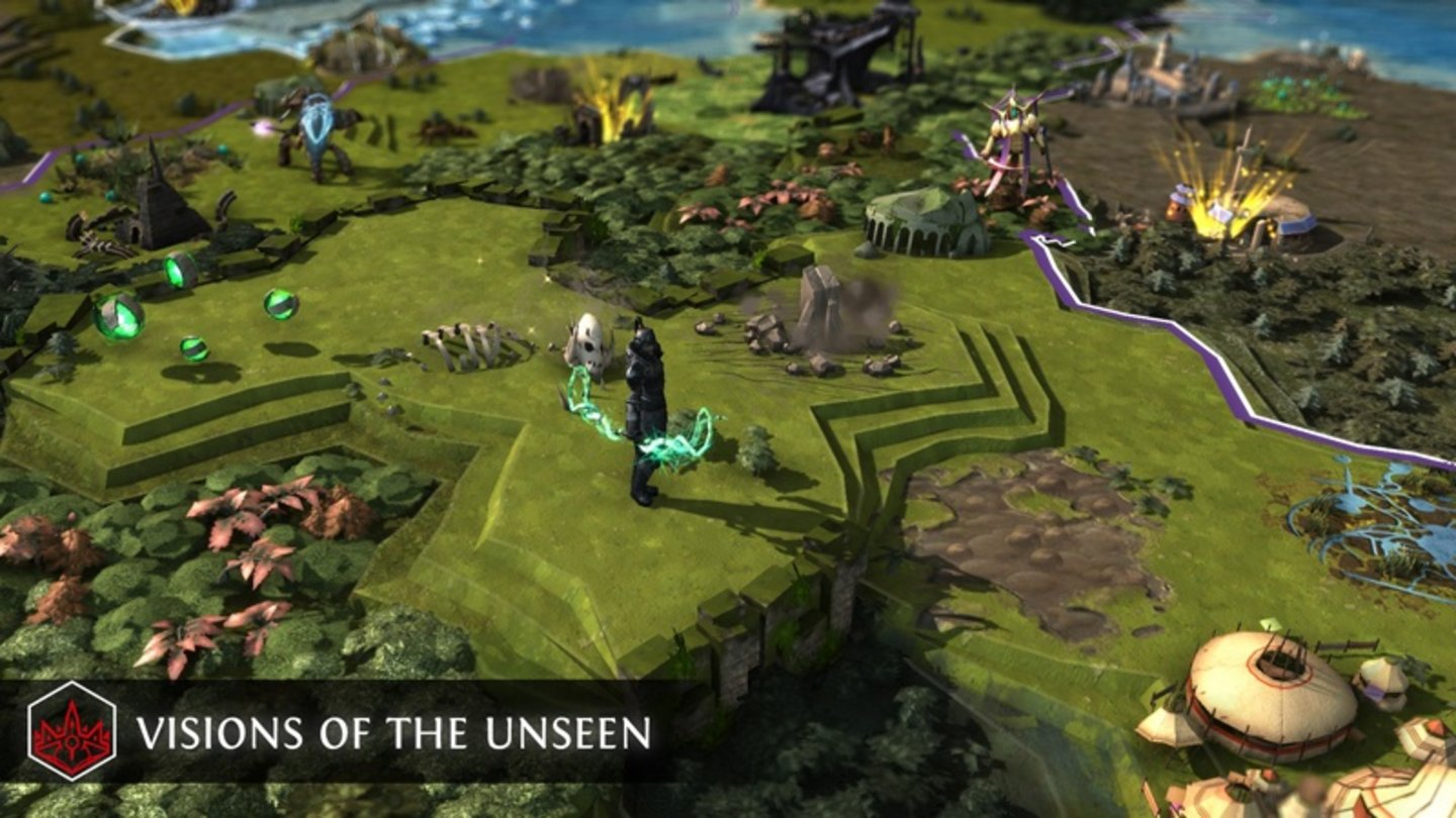 Endless Legend - Visions of the Unseen