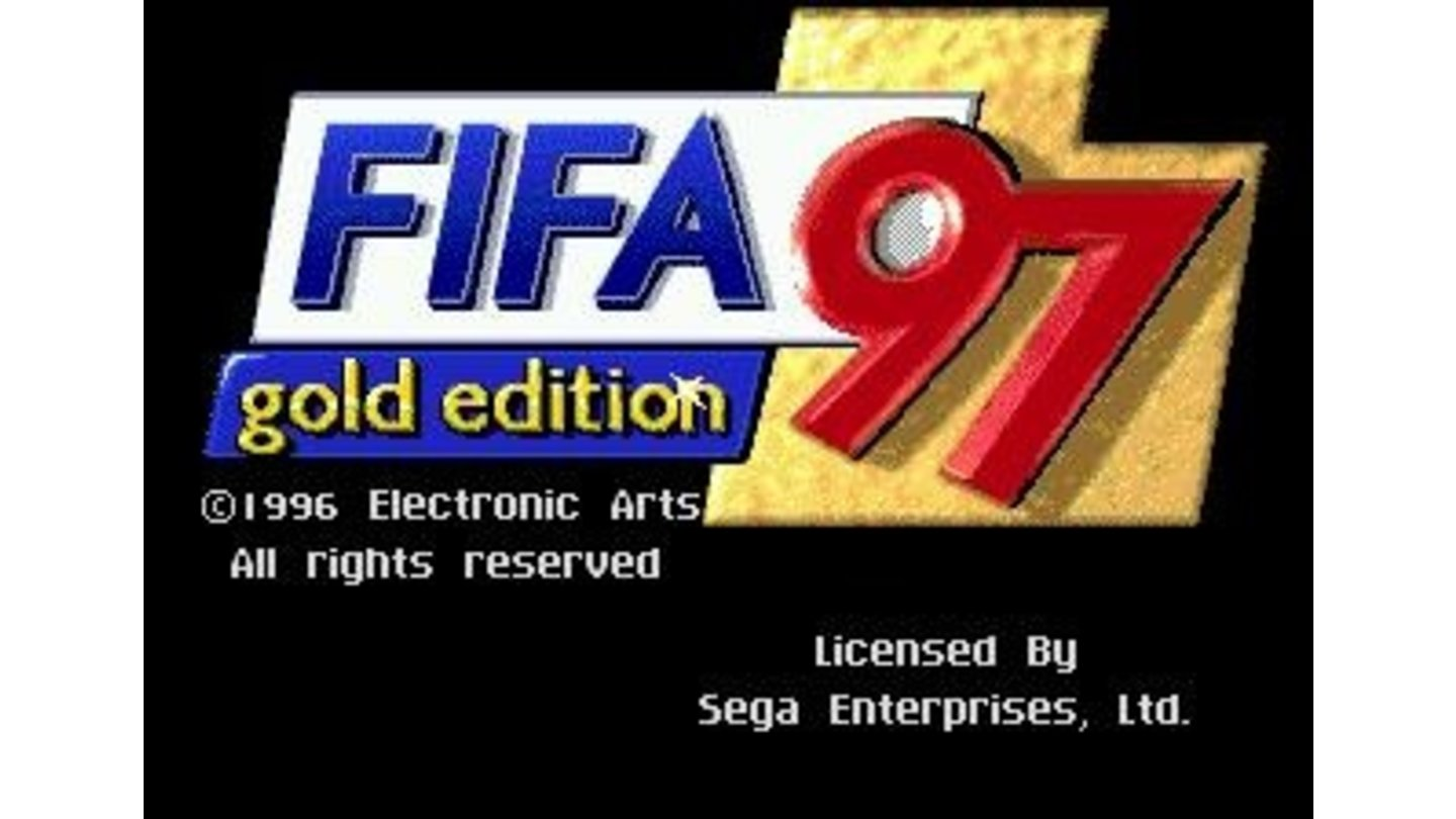Title screen (Genesis gold edition)