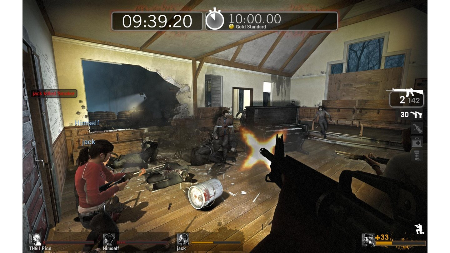 Left 4 Dead - Screenshots aus dem Survival-Paket
