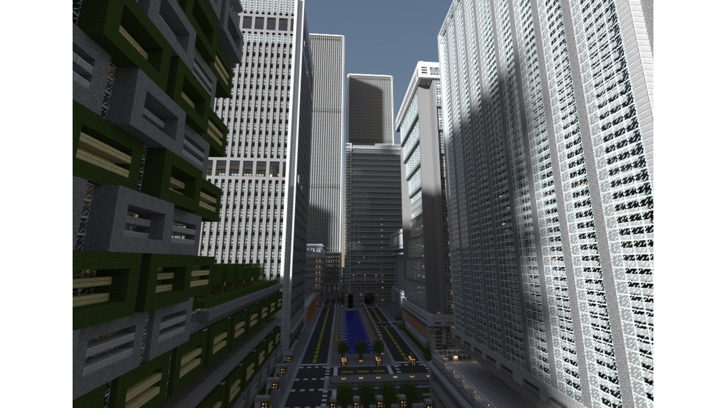 Minecraft - Titan City (unfertige Version)