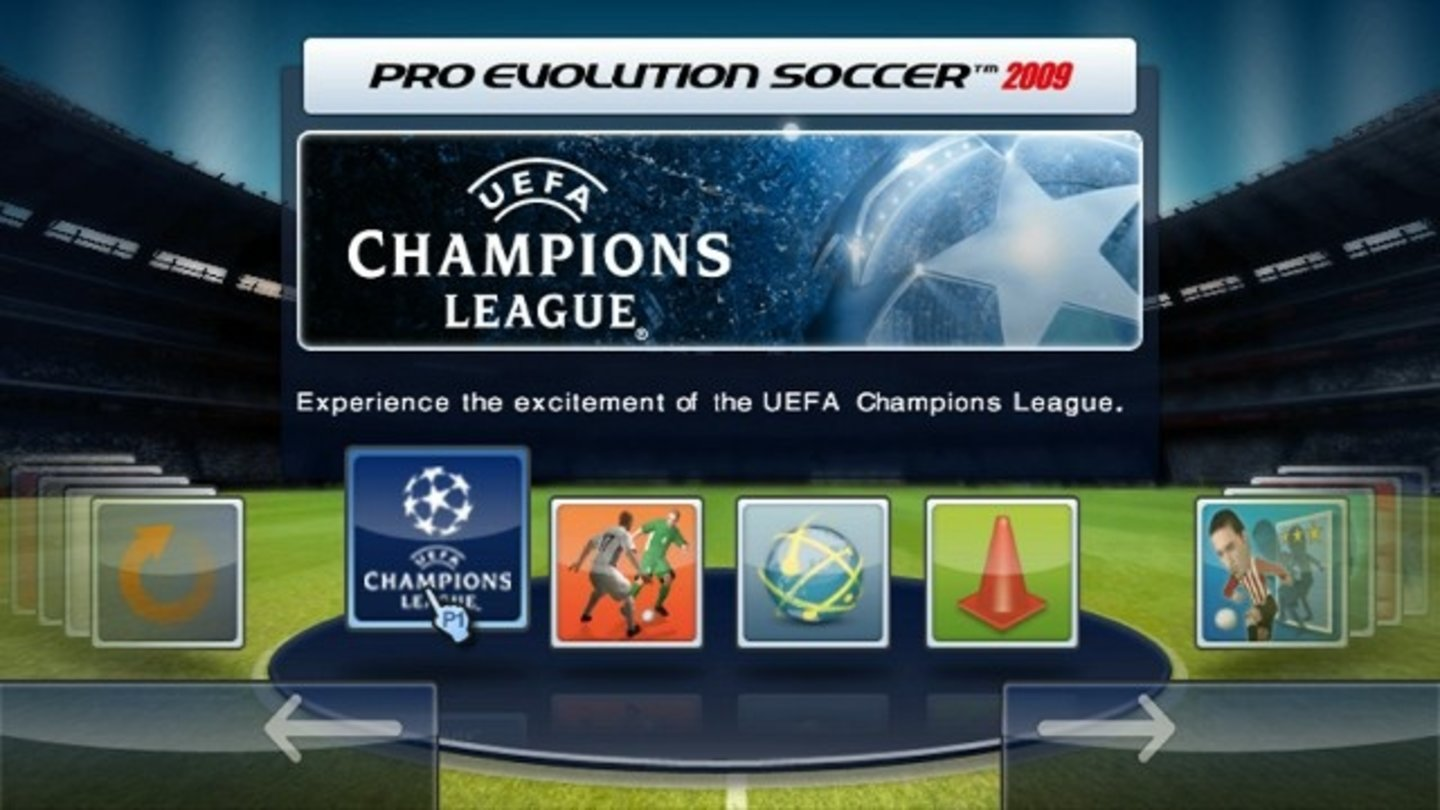PES 2009 Wii