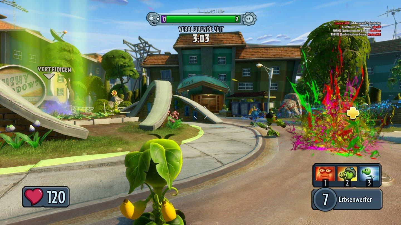 Plants Vs Zombies Garden Warfare Screenshots