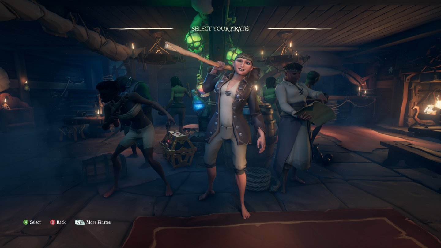 Sea of Thieves Pirate_Selection_1